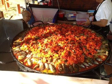 Mindil Beach markets - Paella